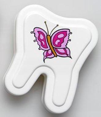 Milchzahnbox Motiv Schmetterling