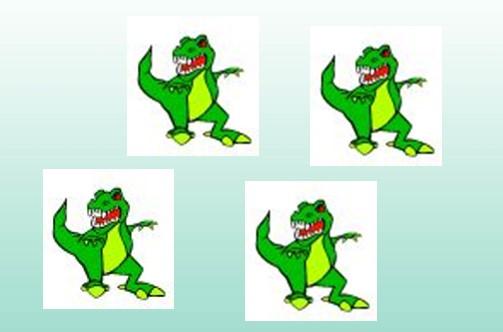Kindertattoo Motiv Dino