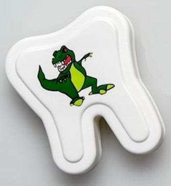 Milchzahnbox Motiv Dino