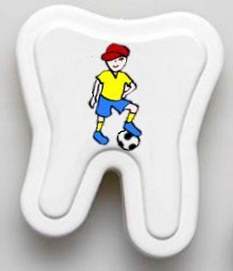 Milchzahnbox Motiv Fußballer