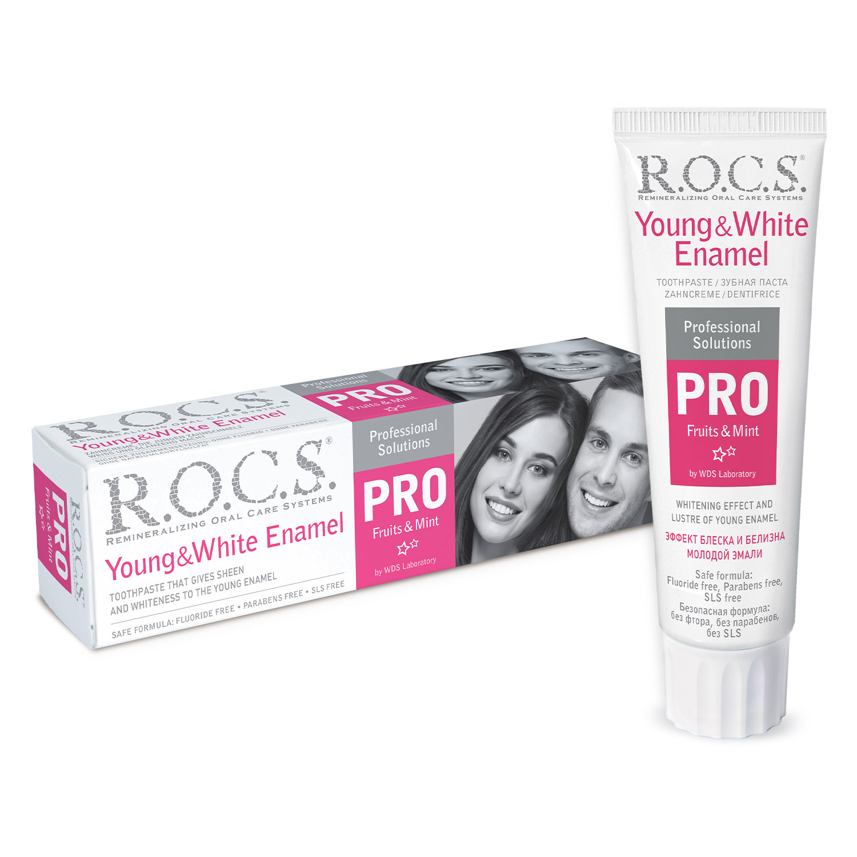 R.O.C.S.  PRO Young & White Enamel