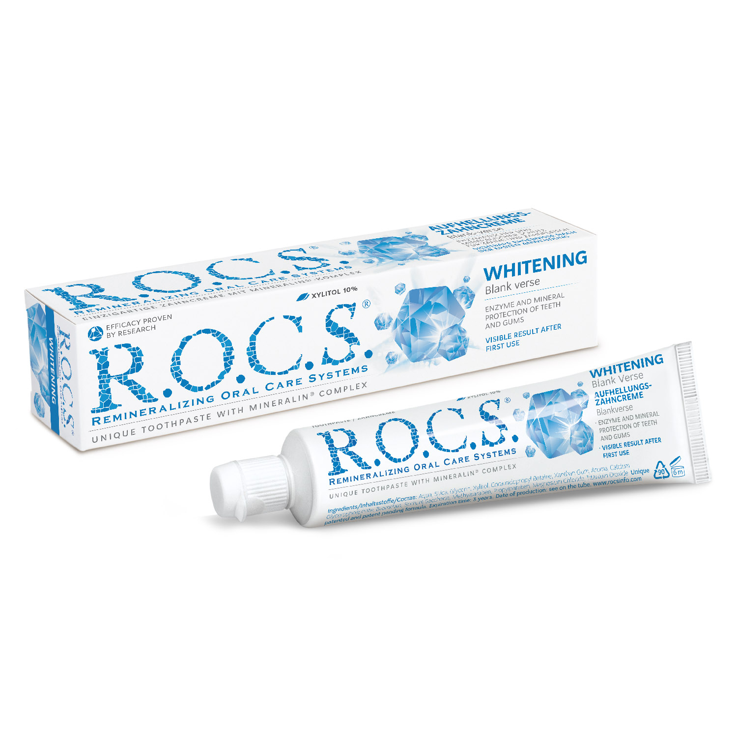 Whitening. Tube mit 74g (60ml)