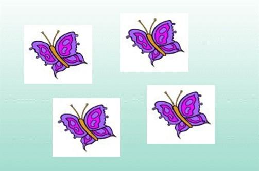 Kindertattoo Motiv Schmetterling