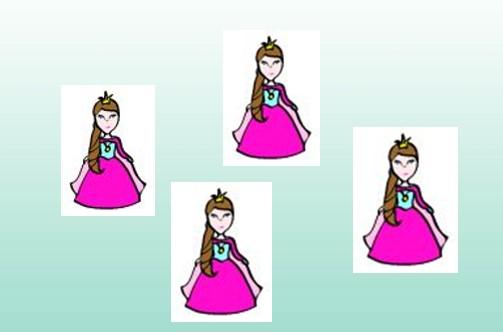 Kindertattoo Motiv Prinzessin
